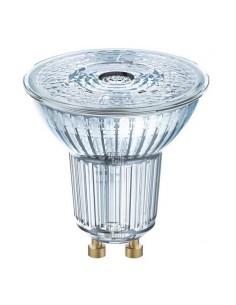 Bombilla Dicroica GU10 LED PAR16 de 4,3W de Osram LedVance Cristal con 36 grados de haz de luz luz fría | LeonLeds Iluminación
