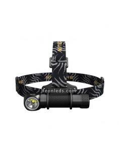 Linterna Frontal de Cabeza LED Potente Nitecore HC33 1800Lm model 2018 con cinta de nylon para 1 bateria 18650 | LeonLeds Ilumin