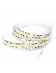 Tira LED monocolor 18W/m Luz calida 3000K SMD2835 IP20 5 Metros con esquema de instalación | LeonLeds Iluminación
