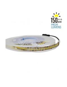 Esquema de instalación Tira de LED de interior de alta luminosidad 18W por metro Vtac 2165 IP20 SMD 2835 | LeonLeds Iluminación