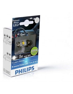 Bombilla Philips Festoon -38mm- 4000k