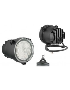 Faro Redondo LED Ø84 -Luz diurna- Con Cable Homologado E20