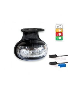 Pilotos Luces LED Laterales y Galibo con o sin soporte FT012 FT-012 conector QS Tulipa transparente | LeonLeds