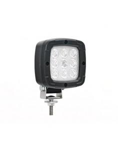Faro de LED para Tractor Camión remolque agícola, bañera, carretilla, grua, maquinaria industrial Fristom FT036 15W Cuadrado 12V