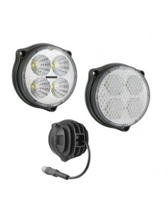 Faro Redondo Ø87 LED  12-24V Con cable y conector DEUTSCH
