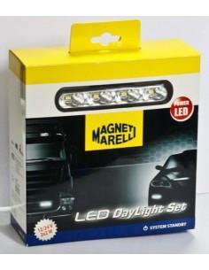 Luz Diurna LED Homologada Magneti Marelli LPQ080 12V 24V Camión Automovil   LeonLeds