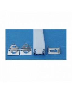 Perfil Aluminio Cuadrado -Tira Led-