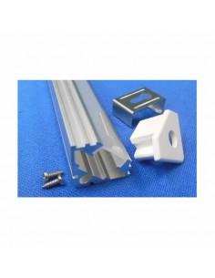 Perfil Aluminio Ángulo -Tira Led-