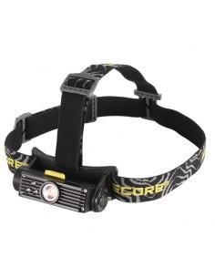 Linterna de Cabeza Frontal LED Nitecore HC90 Recargable Ligera Potente con 3 LED de colores | LeonLeds Iluminación
