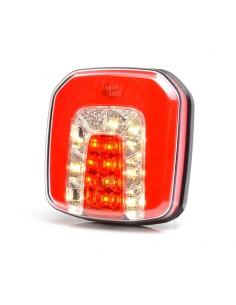 Faro Trasero LED 3 Funciones 12/24V Was efecto NEON Posición niebla y marhca atras ! LeonLeds