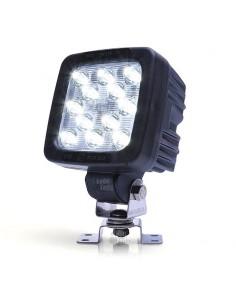 Faro Cuadrado LED 50W Was para camión tractor remolque maquinaria agrícola industrial estanco multivoltaje | LeonLeds