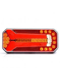 Piloto LED Intermitentes Progresiva Dinámica 12V 24V 7 Funciones Camión Furgoneta | LeonLeds