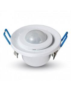 Sensor de proximidad techo empotrado (PIR) Infrarrojos 360º Regulable 5091 V-tac| LeonLeds