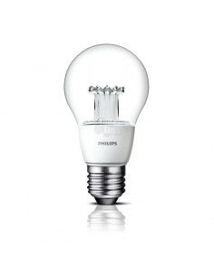 Bombilla Led Philips E27 A60 -6W- Regulable MasterClear
