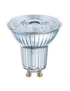 Bombilla Led GU10 Dicroica de LED Osram LedVance Intensidad Regulable de 6,1w de cristal 36º | LeonLeds