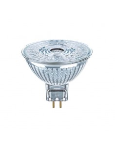 Bombilla Led MR16 GU5.3 3W 36º Regulable Halógena LED 12V de cristal 36 grados de ángulo de haz y intensidad regulable Osram Led