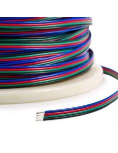 Cable de Conexión Para Tiras Led RGB -1 Metro-