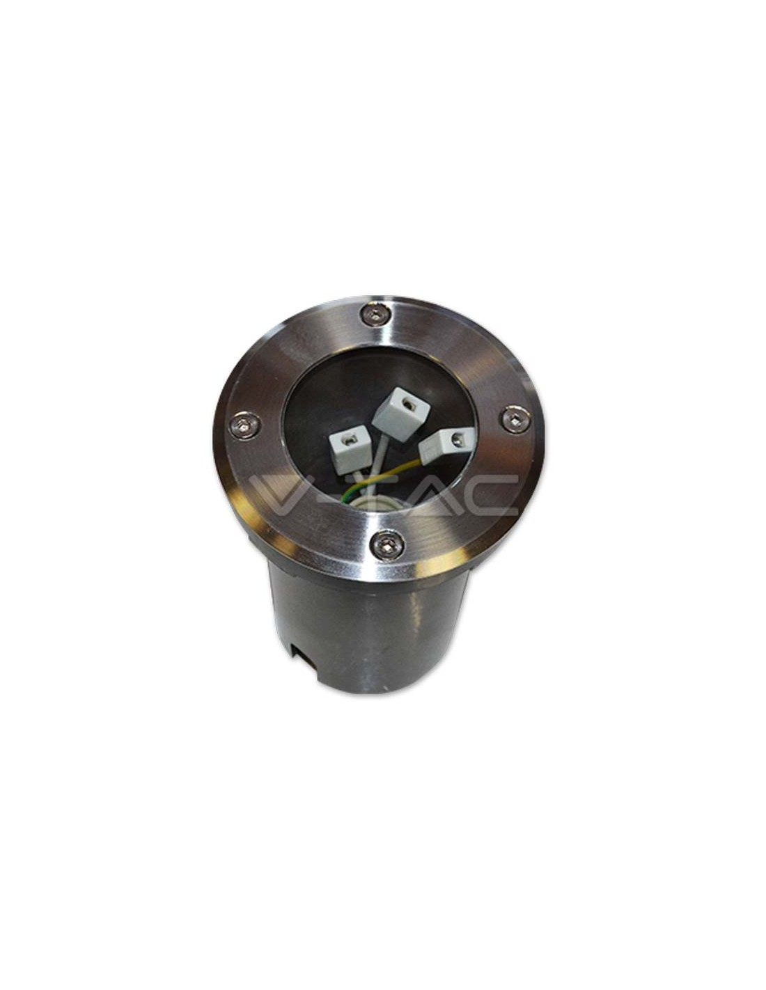 Foco de suelo de exterior empotrable 4791 aluminio ip65 67 - Foco philips ip65 ...