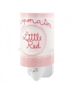 Quitamiedos LED Infantil de enchufe serie Little Red Rojo y blanco 61905 | LeonLeds