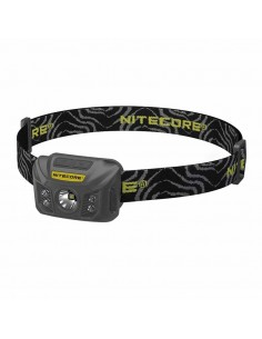 Linterna Frontal LED Nitecore NU30 Recargable Micro USB con bateria incorporada led rojos | LeonLeds