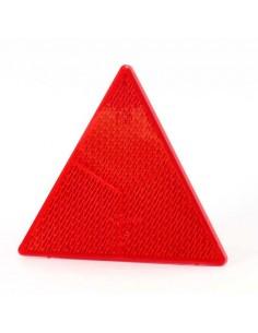 Catadióptrico Triángulo Rojo - Tornillos-