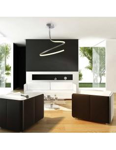 Lámpara LED Simple Serie Nur 30W 3000K 2400Lm 4982 4996 Dimmable Diseñador Jose I. Ballesteros Santiago Sevillano   LeonLeds