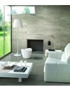 Lámpara de pie de Salón redonda pantalla acrilica diseño moderno 1509 Mantra   LeonLeds