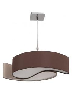 Lámpara de Techo Ying-Yang Grande Blanco/Negro  Lagrimas pequeña   LeonLeds