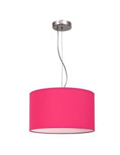Lámpara de Techo Fucsia Nicole 30Cm Colgante Suspensión Rosa   LeonLeds