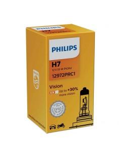 Bombilla Philips Vision H7 PX26D +30% mas de luz 12972PRC1 | LeonLeds