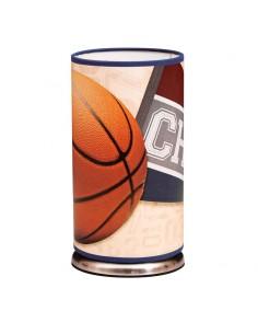 Lámpara Sobremesa Sports Azul Balón de Baloncesto 1XE27 25Cm por 13Cm  055871008 | LeonLeds