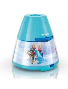 Proyector y Luz de Noche Infantil de Frozen Disney -Philips- | Leonleds