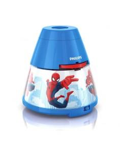 Proyector y Luz de Noche Infantil de Spiderman Marvel -Philips- | Leonleds