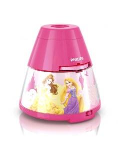 Proyector y Luz de Noche Infantil de Princesas Disney -Philips- | Leonleds