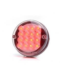 Piloto Antiniebla LED Redondo Tulipa Transparente 24V de Was Barato | LeonLeds