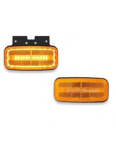 Piloto Lateral e Intermitente y reflectante LED FT- 080 Ambar de Fristom FT080 FT-080   LeonLeds