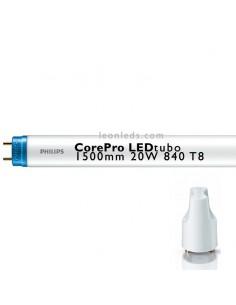 Tubo LED Philips LEDtubo 1500MM 20W 840 T8 tubo fluorescente de led   LeonLeds Iluminación