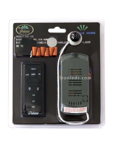 Kit Control Remoto para Ventiladores infrarojos SP01 al mejor precio   LeonLeds