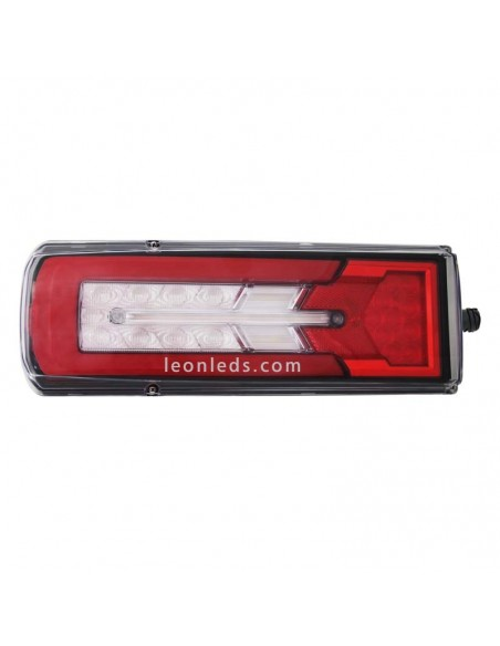 Piloto Trasero LED 12/24V 8 Funciones 26075 de Lucidity para cabezas tractoras intermitene progresivo | LeonLeds Iluminación