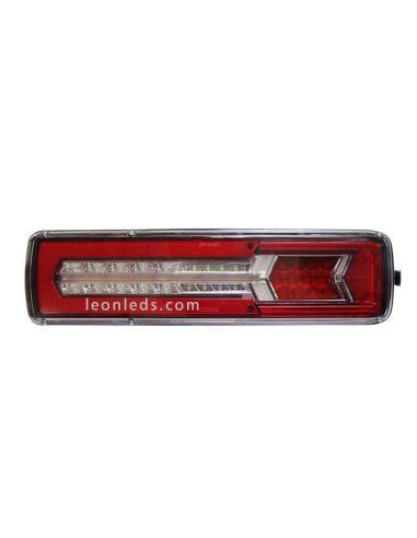 Piloto Trasero LED 12/24V 8 Funciones 50,5CM para cabez tractora 26077 Lucidity  LeonLeds