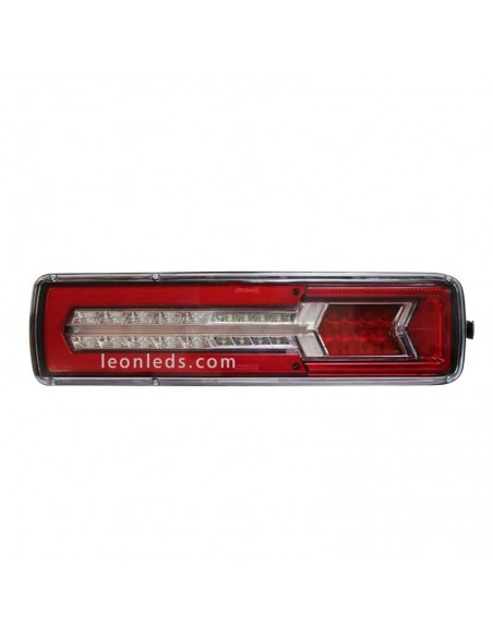 Piloto Trasero LED 12/24V 8 Funciones 50,5CM para cabez tractora 26077 Lucidity| LeonLeds