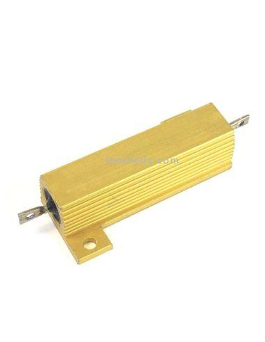 Resistencia Potencia en caja de aluminio 50W 27 ohm al mejor precio de internet | LeonLeds