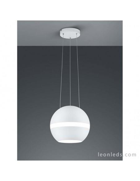 de Blanca LED Techo Lámpara Trio Colgante Balloon 30W 8mvn0wNO