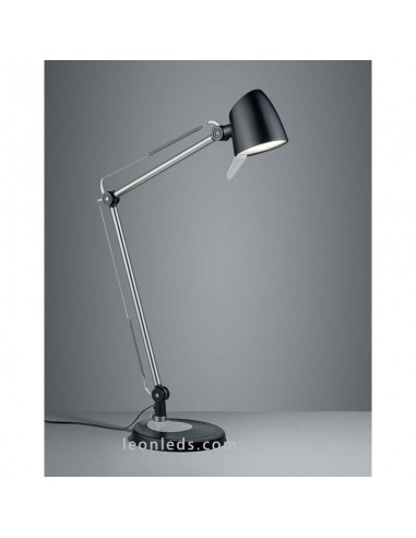 Flexo de Estudio LED Rado 3 en 1 Negro de 5W al mejor precio | LeonLeds Iluminación