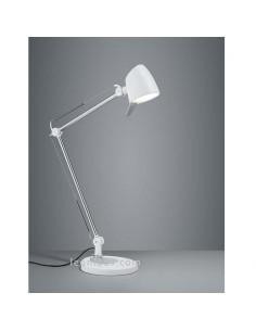 Flexo de Estudio LED Rado 3 en 1 Blanco -5W- para mesas de oficinas o escritorios en oferta   LeonLeds Iluminación