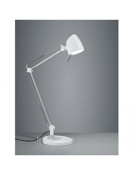 Flexo de Estudio LED Rado 3 en 1 Blanco -5W- para mesas de oficinas o escritorios en oferta | LeonLeds Iluminación