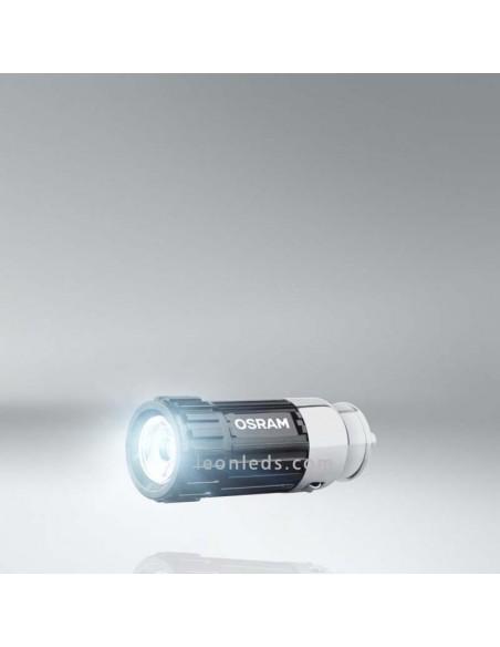 Linterna LED Osram FlashLight 15 para carga a traves de mechero 12V   LeonLeds Iluminación