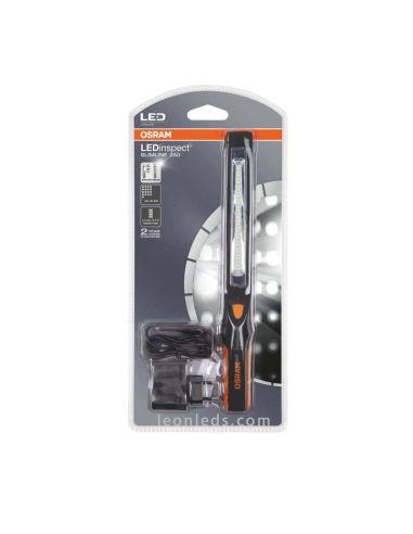 Linterna LED Osram SlimLine 250 barata - Linterna LED inspección de vehículos racargable magnética | LeonLeds Iluminación