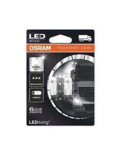 Bombilla LED W5W T10 de Osram para camiones 24V - Bombilla sin casquillo LED | LeonLeds Iluminación