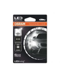 Festoon Osram LED de 31mm C5W Premiun - Bombilla LED para matricula o interior del vehículo | LeonLeds Iluminación